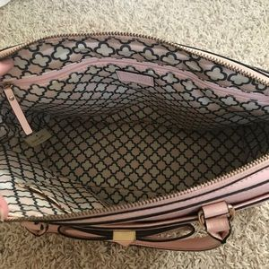 kate spade Bags - Kate Spade Pink Leather Bow Shoulder Purse